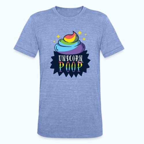 Original Unicorn Poop - Unisex Tri-Blend T-Shirt by Bella & Canvas