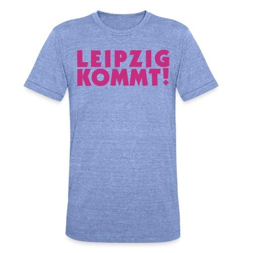 leipzigkommt leipziger leipzig - Unisex Tri-Blend T-Shirt von Bella + Canvas