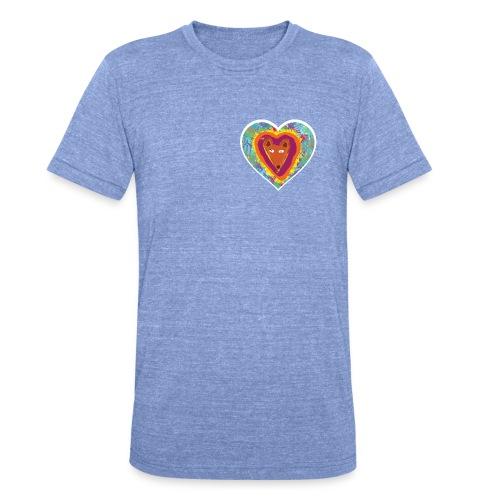 Foxy Heart - Unisex Tri-Blend T-Shirt by Bella & Canvas