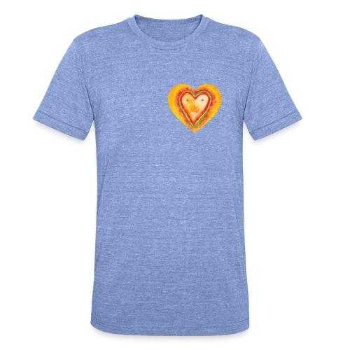 Heartface - Unisex Tri-Blend T-Shirt by Bella & Canvas