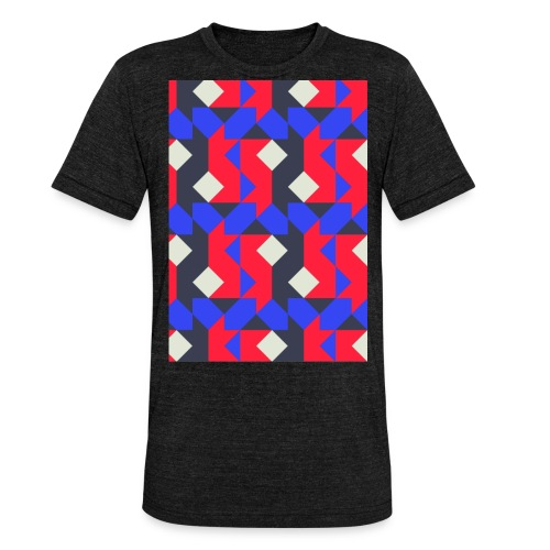 Abstact T-Shirt #1 - Unisex Tri-Blend T-Shirt by Bella & Canvas