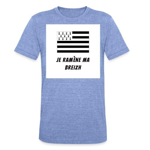 je ramene ma breizh - T-shirt chiné Bella + Canvas Unisexe