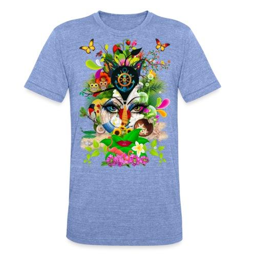 Parfum d'été by T-shirt chic et choc - T-shirt chiné Bella + Canvas Unisexe