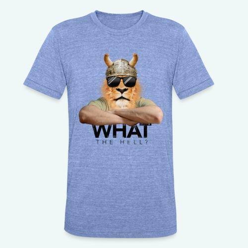What the hell? - Unisex Tri-Blend T-Shirt von Bella + Canvas