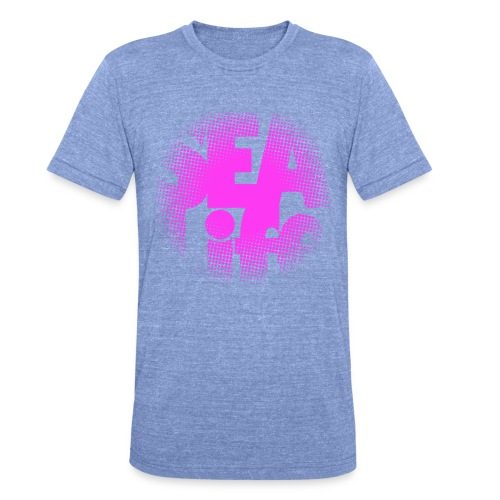 Sealife surfing tees, clothes and gifts FP24R01B - Bella + Canvasin unisex Tri-Blend t-paita.