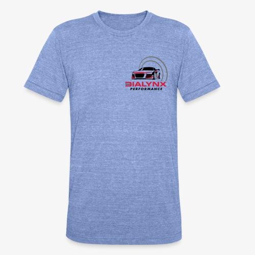 Dialynx Performance Race Team White Range - Unisex Tri-Blend T-Shirt by Bella & Canvas