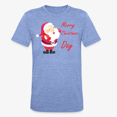 Merry Christmas Day Collections - T-shirt chiné Bella + Canvas Unisexe
