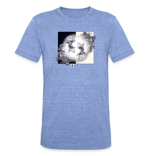TSHIRT MUTAGENE TATOO DragKoi - T-shirt chiné Bella + Canvas Unisexe