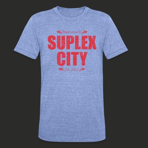 Suplex City Mens T-Shirt - Unisex Tri-Blend T-Shirt by Bella & Canvas