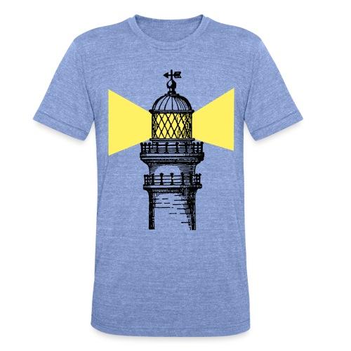 lighthouse - Camiseta Tri-Blend unisex de Bella + Canvas