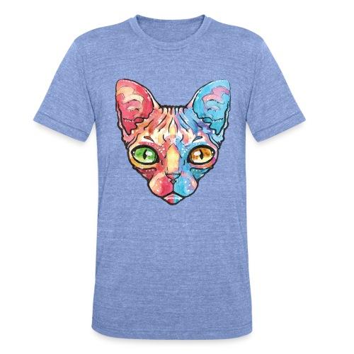 EgyptianCat - Unisex Tri-Blend T-Shirt von Bella + Canvas