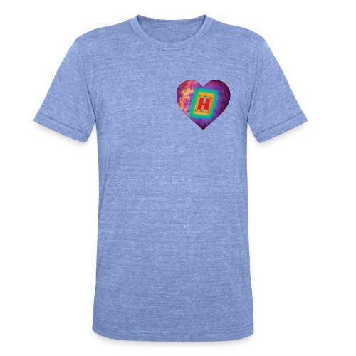 Help yourself to a big H - Unisex Tri-Blend T-Shirt by Bella & Canvas