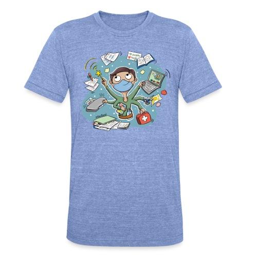 PROFE multitask 2021 - Camiseta Tri-Blend unisex de Bella + Canvas