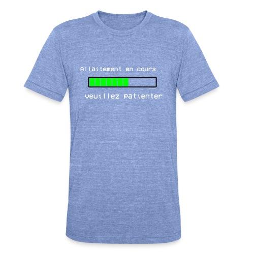 chargement allaitement - T-shirt chiné Bella + Canvas Unisexe