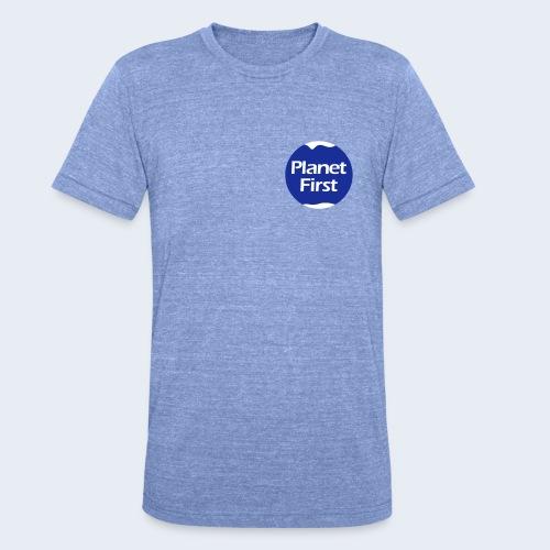 Planet First 2 - Unisex tri-blend T-shirt van Bella + Canvas