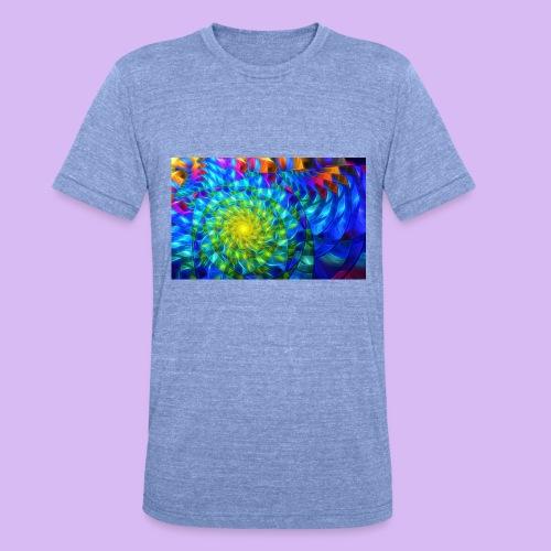 Astratto luminoso - Maglietta unisex tri-blend di Bella + Canvas