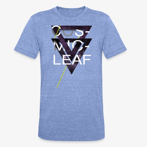 Cosmicleaf Triangles - Unisex Tri-Blend T-Shirt by Bella & Canvas