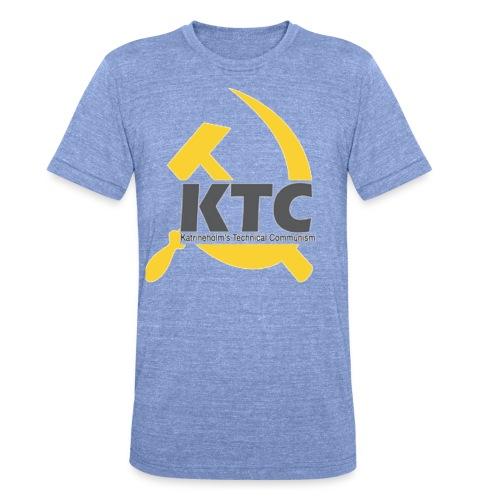 kto communism shirt - Triblend-T-shirt unisex från Bella + Canvas