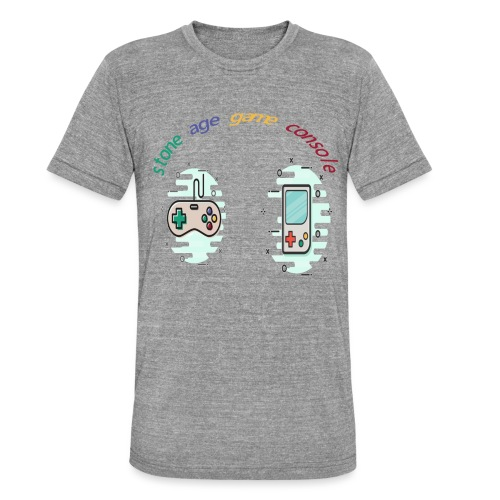 Retro Gaming Tribute - Unisex Tri-Blend T-Shirt von Bella + Canvas
