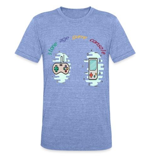 Retro Gaming Tribute - Unisex Tri-Blend T-Shirt von Bella + Canvas