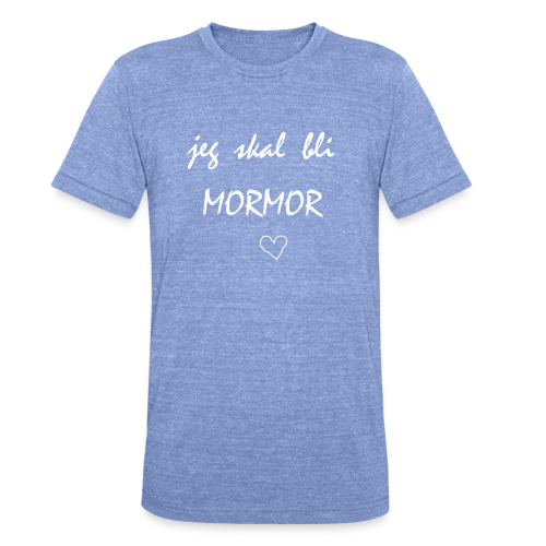 Mormor Collection - Unisex tri-blend T-skjorte fra Bella + Canvas