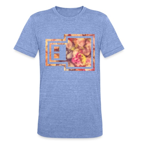 21ème GENERATION Modèle UrbanCloud - T-shirt chiné Bella + Canvas Unisexe