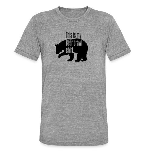 This is my bear crawl shirt - Triblend-T-shirt unisex från Bella + Canvas