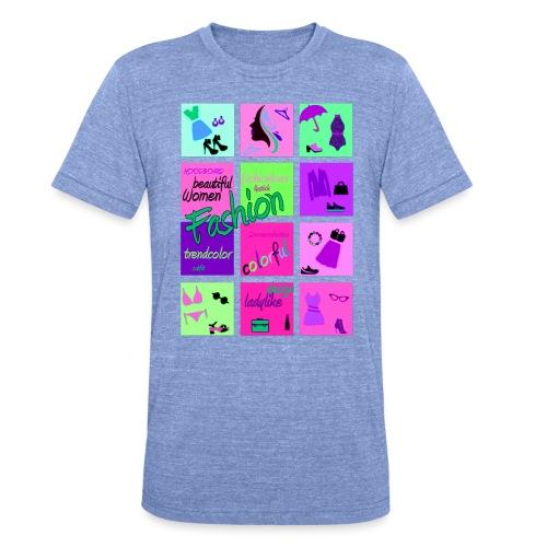 Fashion - Unisex Tri-Blend T-Shirt von Bella + Canvas