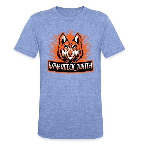 GamerGeek Logo XXXL - Unisex Tri-Blend T-Shirt von Bella + Canvas