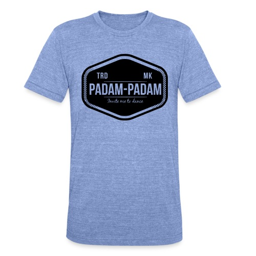 Padam Padam - Unisex Tri-Blend T-Shirt by Bella & Canvas
