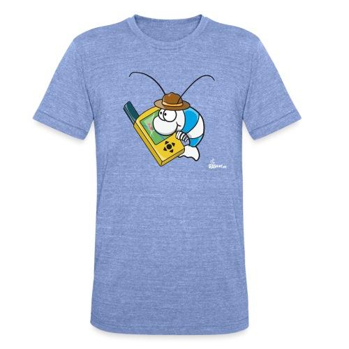 Thoddys Geocaching Garnele - Unisex Tri-Blend T-Shirt von Bella + Canvas