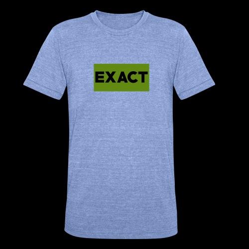 Exact Classic Green Logo - Unisex Tri-Blend T-Shirt by Bella & Canvas