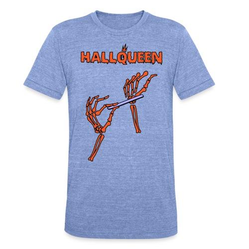 hallqueen - Camiseta Tri-Blend unisex de Bella + Canvas