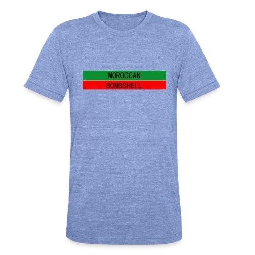 Moroccan Bombshell - Unisex Tri-Blend T-Shirt von Bella + Canvas