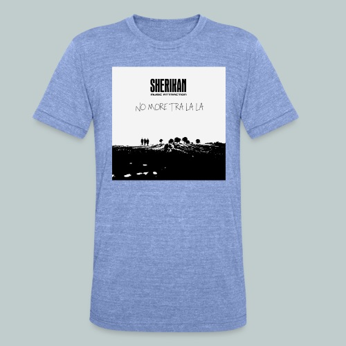 No more tra la la - Triblend-T-shirt unisex från Bella + Canvas
