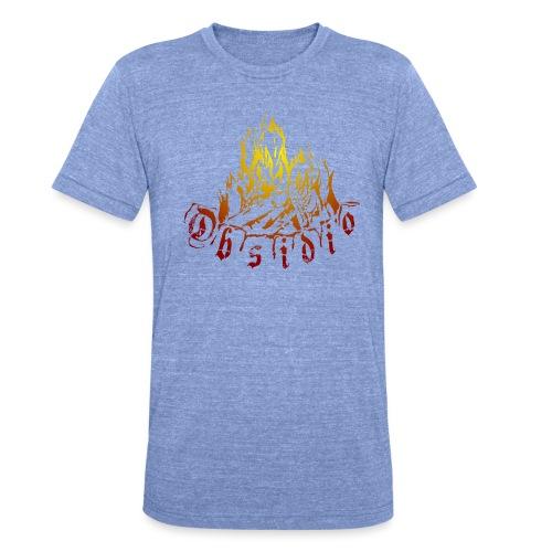 Obsidio Feuer - Unisex Tri-Blend T-Shirt von Bella + Canvas