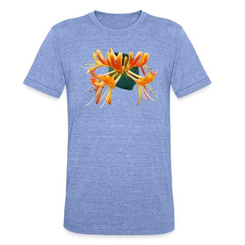 TIAN GREEN Garten - Geißblatt 2020 01 - Unisex Tri-Blend T-Shirt von Bella + Canvas