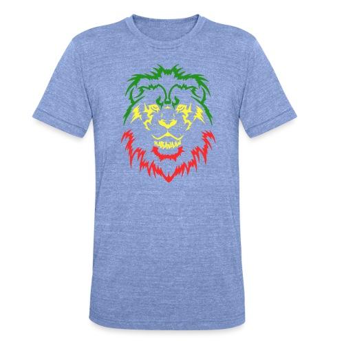 KARAVAAN Lion Reggae - Unisex tri-blend T-shirt van Bella + Canvas