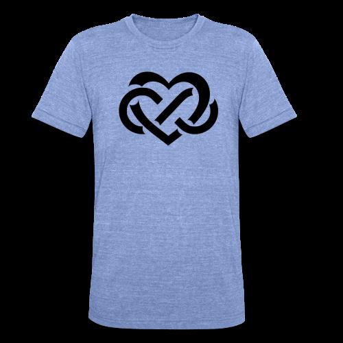 Vriendschap - Unisex tri-blend T-shirt van Bella + Canvas