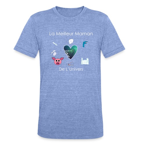 Tee Shirt MAMAN - T-shirt chiné Bella + Canvas Unisexe