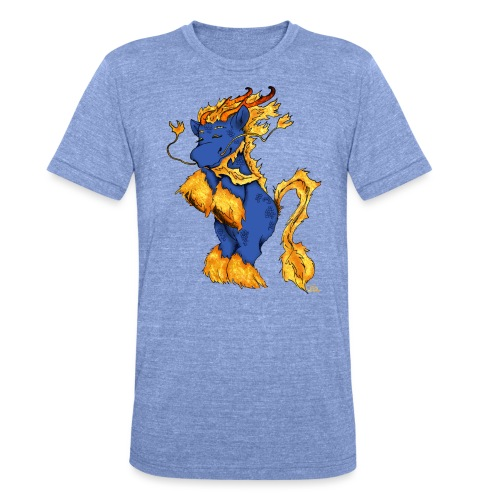 Quilin / Kirin - Unisex Tri-Blend T-Shirt von Bella + Canvas