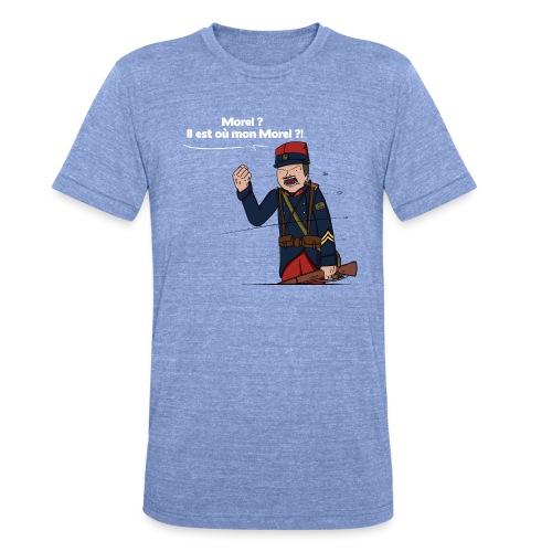 Sgt.Flantier 1914 - T-shirt chiné Bella + Canvas Unisexe