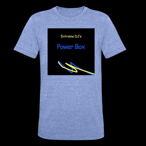 powerbox - Bella + Canvasin unisex Tri-Blend t-paita.