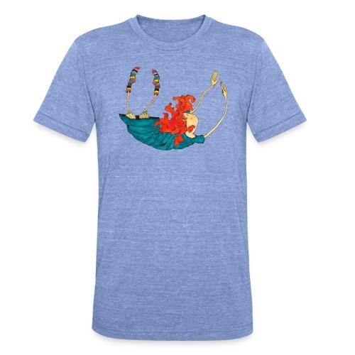 Frit fald - Unisex tri-blend T-shirt fra Bella + Canvas