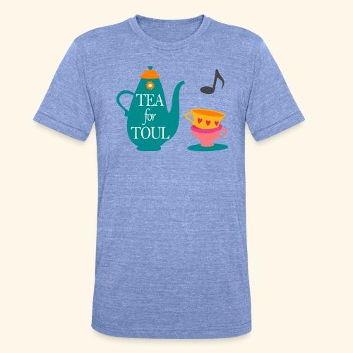 Tea for Toul - T-shirt chiné Bella + Canvas Unisexe