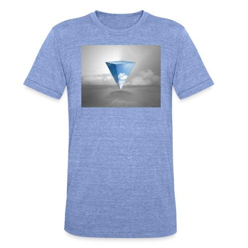 Geometrie Grey - Unisex Tri-Blend T-Shirt von Bella + Canvas
