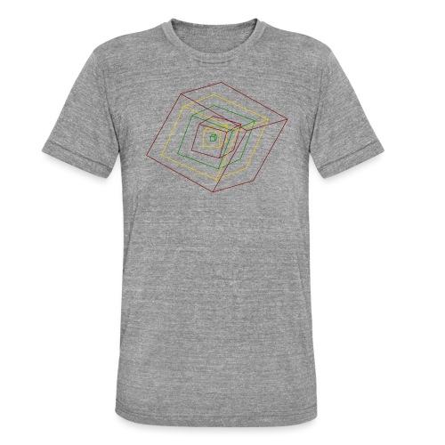 Rasta Cubes - T-shirt chiné Bella + Canvas Unisexe