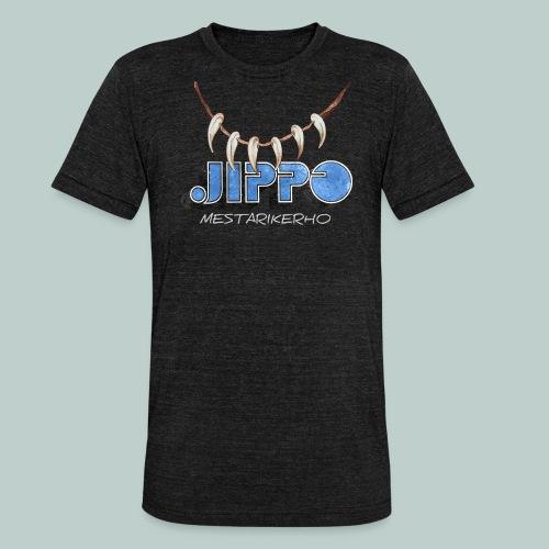 Jippomestari - Bella + Canvasin unisex Tri-Blend t-paita.