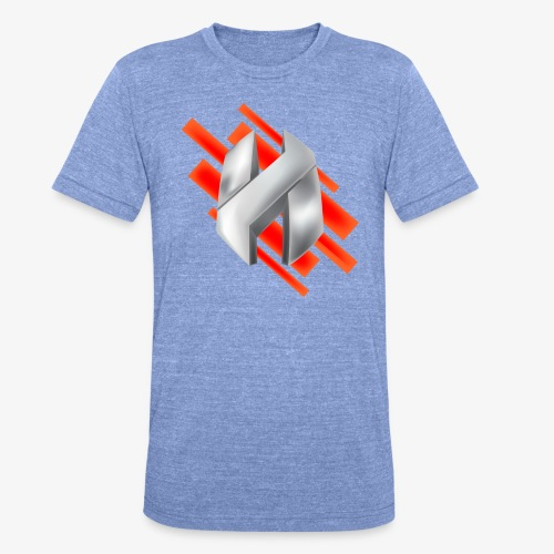Abstract Red - Unisex Tri-Blend T-Shirt by Bella & Canvas
