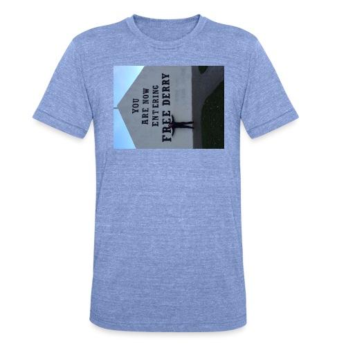 free derry - Unisex Tri-Blend T-Shirt by Bella & Canvas